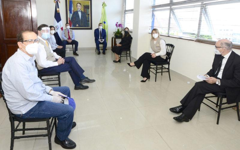 Pleno Tribunal Superior Electoral recibe Misión de Observación Electoral de la OEA
