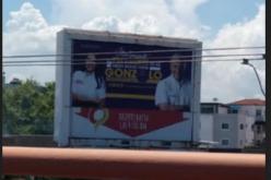 Movimiento Presidente Camisa Mangas Cortas de apoyo a Gonzalo con cierre de campaña de 6 de la tarde a 10 de la noche por el canal 19 de Cinvevisión este jueves