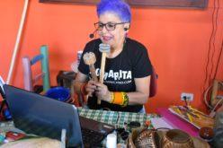 Xiomarita realiza talleres folklóricos vía Zoom por Día Mundial del Folklore