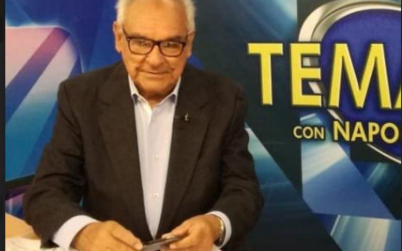 El veterano locutor y periodista Napoleón Beras Prats celebra el 20 aniversario de su programa «Temario»