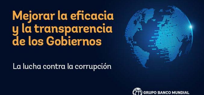 Combatir y poner freno a la corrupción en medio de la pandemia es más importante que nunca, según informe del Banco Mundial
