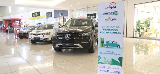 Exhibición de vehículos Ecoamigables en Galería 360