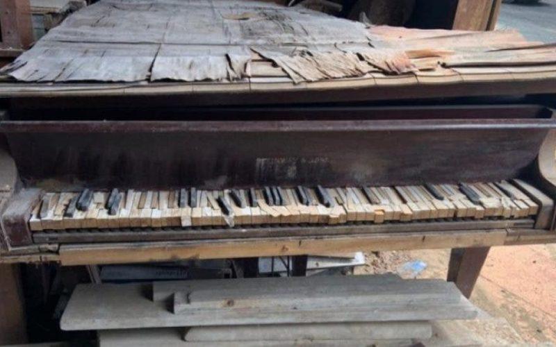 Señores, ¡¡ese no es el piano del maestro José Reyes…!!