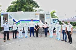 Un operativo para la prevención del nuevo coronavirus realizado por la Fundación Refidomsa