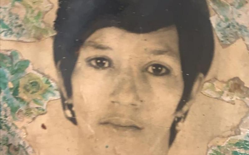 Fefita La Grande cuando tenía 24 años; dice entonces ya era La Vieja Fefa