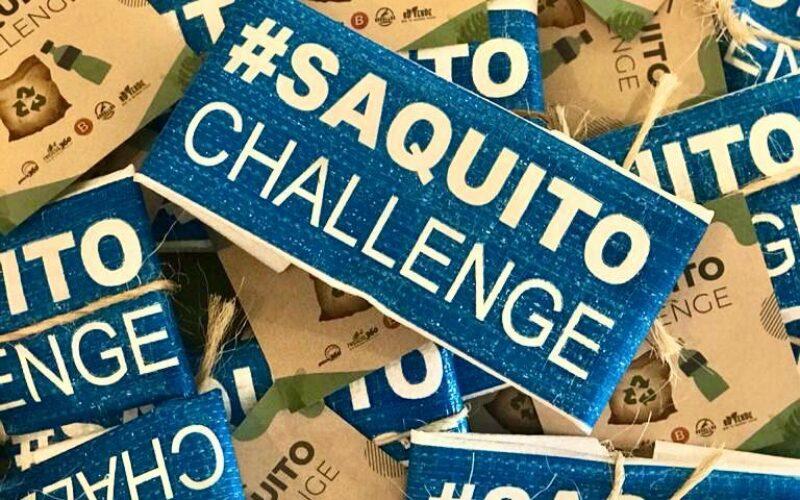 """""""Saquito Challenge"""", un reto para cuidar el medio ambiente"""