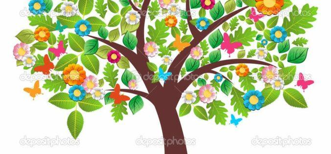 Vestidos con colores de la primavera