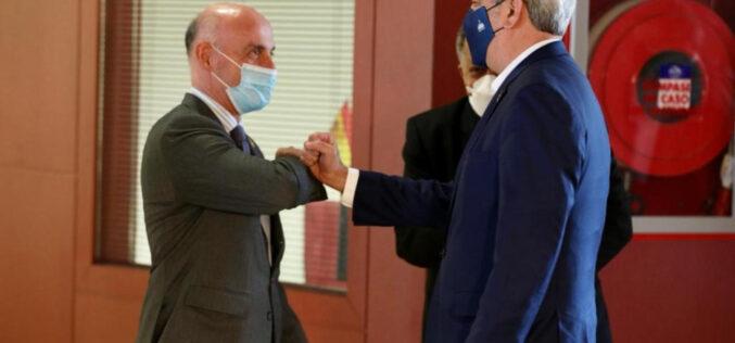 Presidente dominicano Luis Abinader arribó en España la mañana de este domingo