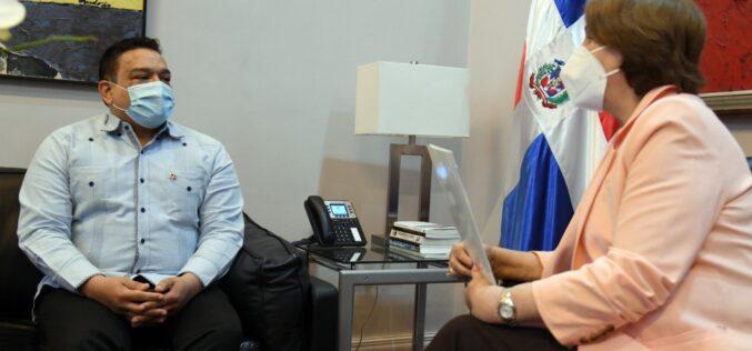 Director de Onda sostiene encuentro con ministra de Cultura; procuran fortalecer conocimiento sobre derecho autoral
