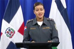 Primera mujer designada Vocera de la Policía Nacional RD, la teniente coronel Ana Josefina Jiménez Cruceta
