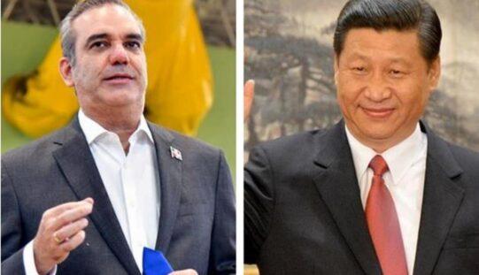 Presidente chino Xi Jinping revela lo tratado en convesación telefónica con su homólogo dominicano Luis Abinader
