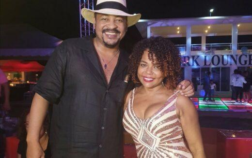 Cheddy García y su hija Chelsy en noche bohemia única con Wason Brazobán