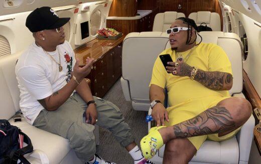 Bulín 47 abordando «jet privado» para iniciar gira de presentaciones por Puerto Rico y Estados Unidos