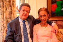 Falleció la madre del ex presidente Leonel Fernández, doña Yolanda Reyna