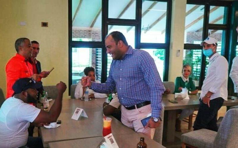 Salvador Holguín convencido será próximo   senador de Dajabón; se reúne con periodistas e influencers de la provincia