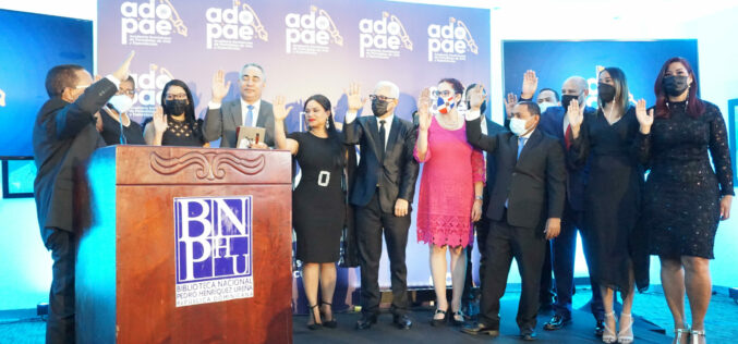 Juramentado el primer Consejo Directivo de Adopae;   entidad se compromete con impulsar desarrollo cultural