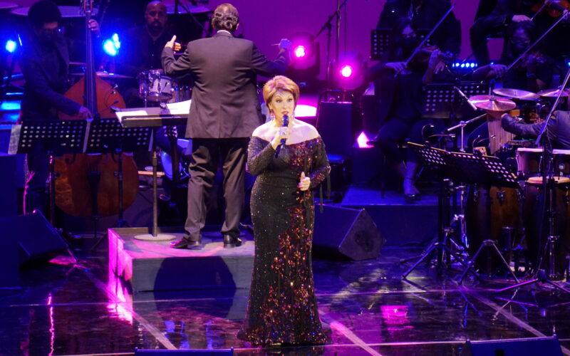 Cecilia García en concierto de lujo en el Teatro Nacional
